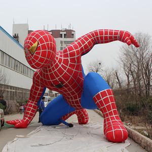 Heißer Verkauf aufblasbare spiderman für Park Förderung Outdoros Klettern spiderman Gebäude dekorative aufblasbare spiderman zum Verkauf