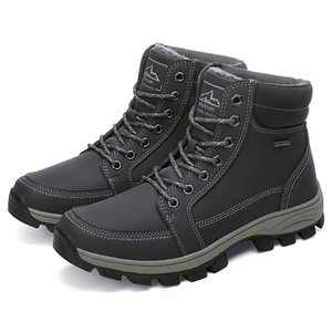 2020 Botas Hombre Professional Mens Waterproof Boots Tactical Outdoor Mountain Climbing Sports Sneakers Hiking Shoes For Fur