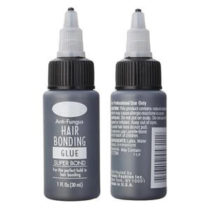 1bottle 1floz الشعر الترابط الغراء سوبر الترابط السائل الغراء للنسيج لحمة شعر مستعار أدوات الشعر المهنية استخدام صالون