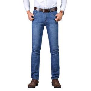 SULEE Markemens-Marken-Jeans Männer Regular Fit Jeans-Denim-Hosen-verursachende Gewaschene Blau für Männer