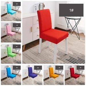 Matrimoni Banchetto Hotel Sedia Cover Banchetto Sedia Hotel Dining Chair Covers Elastico Traspirante Confortevole Lavabile per Ristorante DH0634