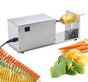 Machine électrique de pommes de terre Tornado, machine de coupe en spirale de pommes de terre, machine de coupe de pommes de terre machine de pommes chips