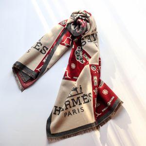 hermes scarf nouvel automne design lumineux or Foulard soie jacquard coton marque concepteur châle hommes et femmes et foulards hiver de luxe