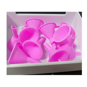 Small Funnels Small Clear Plastic Funnels for Cosmetic Liquids Perfume Oil Filling Empty Containers Specialty Tools for Liquids