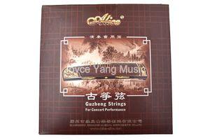 1 ° Alice At84s performance Gu Zheng Strings cinese cetra Arpa Koto acciaio nylon -21 stringhe fissato il trasporto libero