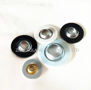 Botones de plástico de metal 10000pcs / 24mm para el disco de cambio rápido