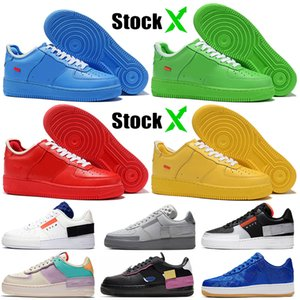 Nike Air Force 1 af1 Top Fashion MCA University Blue University Gold N354 Hombres Mujeres Diseñador Zapatillas de baloncesto Tropical Twist Easter 2020 Sneakers Trainers