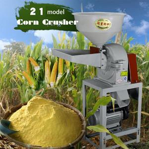 Fagioli 9FZ-21 Corn Crusher Corn mulino Peperoncino in polvere macchina Prezzo Chilli rettificatrice Grinder mulino a martelli
