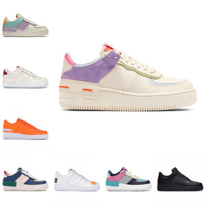Cheap PEACEMINUSONE Forze X Mid Scarpe da corsa Nuovo WMNS Ombra Tropical Twist Sneaker Trainer All White Low Cut One 1 Dunk Scarpe