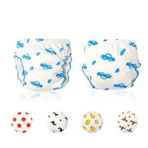 Calças de algodão paro o bebê Crianças reutilizável lavável Diaper capa de pano Fraldas Pants infantil criança crianças Meninos calcinhas das meninas