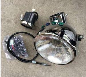 Jialing 70 Motorrad modifizierte Scheinwerfer Montage Jintong kleiner Affe retro Motorrad Scheinwerfer Instrumentengehäuse Scheinwerfer modifiziert