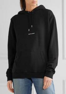 Европейская мужская дизайнерская толстовка с длинным рукавом на груди, строчные буквы Печать Paris Streetwear хип-хоп с капюшоном мужские толстовки мужские и