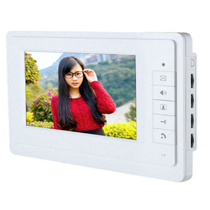 SY819M11 7 Inch HD Doorbell Camera Video Intercom Door Phone System with Monitor IR Camera with night vision.