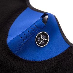 Зимний теплый флис Балаклавы лыж Велоспорт Half Face Mask Cover Открытый Спорт ветрозащитный шеи Guard шарф головной убор неопрена Маски защитные