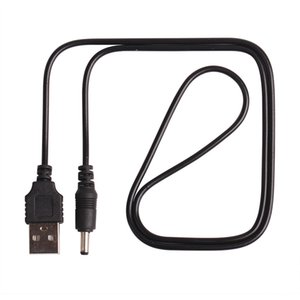 Cabo do carregador de 60CM / 2FT USB ao plugue da CC 3,5 milímetros / cabo de alimentação de Jack Dc3.5 1000pcs / lot