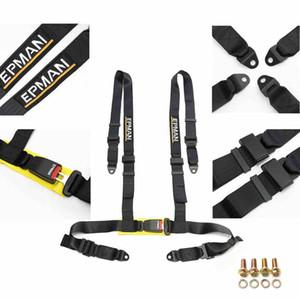 EPMAN- Sicherheitsgurt Style Competition 4 Point Snap Sicherheitsgurt Racing Harness Sicherheitsgurt