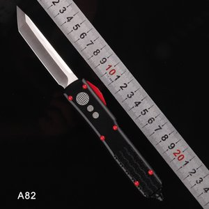 SCHELIN A8 CNC MICRO-TECH UTX-85 Automatic knife Tanto Knife single double edge bayonet action auto Tactical knife Survival gear knives