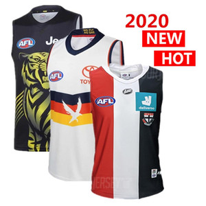 2020 alle AFL Jersey Richmond Tigers geelong Katzen Adelaide Crows West Coast Eagles GWS Giants GUERNSEY Rugby-Trikots Singulett
