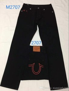 Ağartılmış Mavi Düz Jeans Hommes DOĞRU Denim Pantolon DİN Cep Deisgn Moda Marka Jeans Erkek Fit Hip Hop Jeans tr581 C196