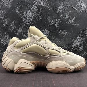 2020 Originals 500 Stone FW4839 Wave Runner Kanye West Salt Super Moon желтый мужчины женщины Спорт на открытом воздухе кроссовки размер 36~47