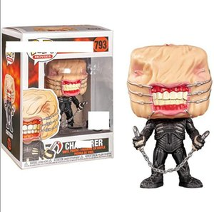Funko POP fierce ghost chasing soul, nail head, hand doll, Hellraiser793, film and television surrounding dolls PVC Model dolls Gifts toys