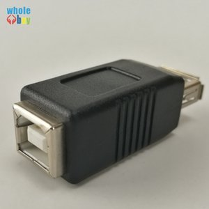 Vente chaude portable USB 2.0 Type A vers USB Type B Plug Extend Printer Adapter Converter (1) Mâle-Mâle (2) Femme-Femme (3) Homme-Femme 200pcs / lot