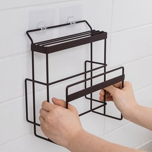 Cutting Board Organizer Holder Knife Block Wall Mounted Storage Hooks Kitchen Accessories Utensil Holder Knife Stand