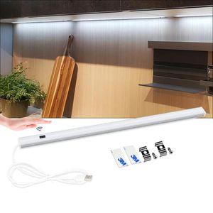 Home LED Wall Lamp Aluminum alloy LED Tube USB DC5V Hand scan sensor lights for cocina 30CM 40CM 50CM Smart Decoration Lamp