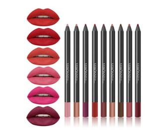 Оптовая новая горячая мода Губная Помада карандаш женская профессиональный карандаш для губ водонепроницаемый карандаш для губ 13 цветов макияж инструменты