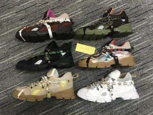 hommes chaussures de marque surdimensionner Chaussures de sport de montagne d'escalade Chaussures Casual FlashTrek Sneaker Cristaux amovibles Hommes Femmes Outdoor Bottes de randonnée