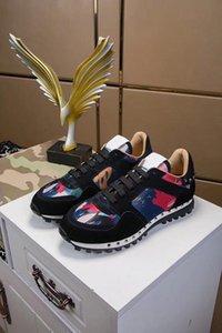 Neue Ankunfts-Krystal Spike Socke Donna Flach Turnschuhe Designer LuxuxMens Rot grundiert Schuhe Frauen Rivet Spiky Socken Junior Spike HYV 35-45 01
