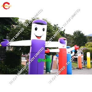 Mano que agita al bailarín inflable del aire para las actividades de la promoción Bailarín inflable Sky Dancers Air Tube Man for Advertising