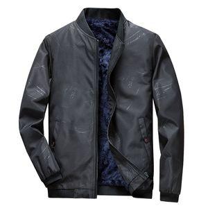 2020 Mens Jacket Winter Casual Coats Warm Bomber Zipper Jacket Men Thicken Slim Outwear Coat Male Brand Windbreaker Veste Hommes
