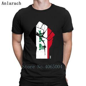Bandeira de Iraque da equipe camisetas Academia Primavera Outono t-shirt personalizado shirt Outfit S-XXXL Norma Básica