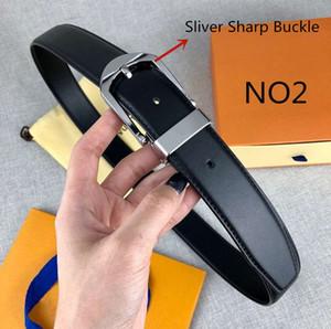Cintos de luxo Cintos Designer Mens Womens Belt Marca Needle Buckle Cintos 16 Styles Largura 3.4cm Altamente qualidade