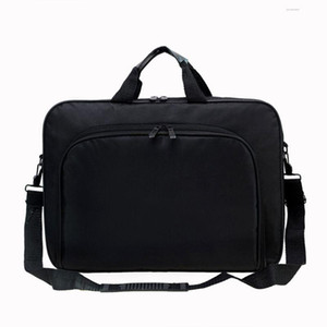 Mens di buona qualità Nuovo Fashsion donne Cartelle Borse 15.6 Inch Laptop Messenger Bag unisex Business Office Borse
