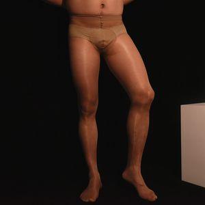 남성 열기 음경 칼집 슬리브 란제리 남성 오일 빛나는 스타킹 게이 에로 남자 안티 마찰 팬티 스타킹 섹시한 남성 포르노 스타킹