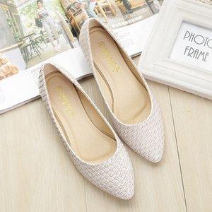 Toutes les femmes match de chaussures de sport Taille 33-43 Slip-on chaussures plates vache musle unique coréenne tous les jours Mocassins des femmes de chaussure de travail zy788