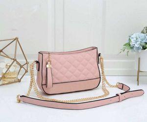Designer Luxury 2020 Fashion New Chain Small Square Bag Solid Color Diamond Single Shoulder Strap Pendant Crossbody Bag