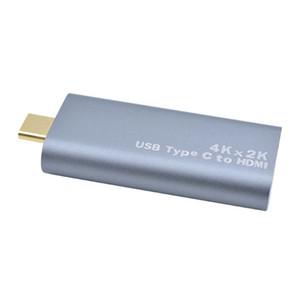 USB3.1 Tipo-C Para HDMI Adaptador Feminino 4K * 2 K 60Hz Para MacBook Para samsung s8 / s9 para huawei p20 usb c para conector hdmi