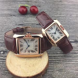 Новая пара Роскошные женские мужские часы Мода Кожаный ремешок Золотые кварцевые классические наручные часы для Мужские женские сапфировые классические часы relogios