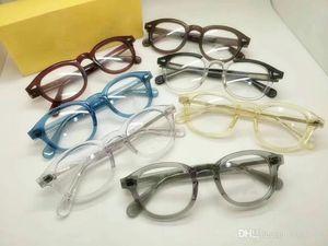 جودة جوني ديب خمر uv-blue قطع 4.0 بلانو عدسة نظارات uv400 49/46/44 نقية لوح للنظارات الطبية نظارات شمسية
