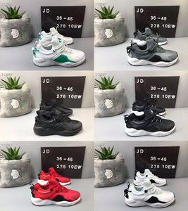 Huarache مدينة نقل 8 الرجال في الهواء الطلق الاحذية النسائية أبيض أسود أوريو حذاء رياضة الثلاثي Huarache 8 أحذية المدربين الرياضة