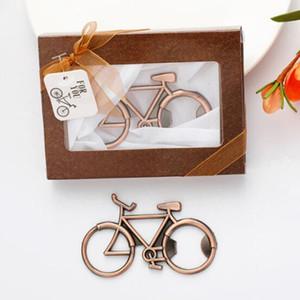 Copper Bicycle Bottle Opener Vintage Bike Beer Openers Metal Kitchen Openers For Cycling Lover Wedding Favor Party Gift Present GGA3150-6