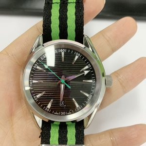 Limited Golf Edition Men Wristwatch 300 Master 41mm Automatic NATO Strap Mens Watches Sport Watch OMJ
