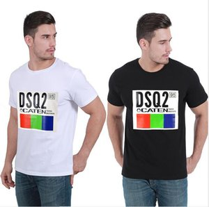 new 20ss high Quality Mens shirt Print Tees Short Sleeve M-3XL clothes t shirt8839#