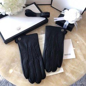 Marque Tide Hommes cuir Gant Design de mode hommes à la mode Gants Cadeaux pour la mode Gants Boyfriends Five Fingers