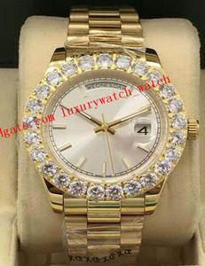 Super Quality Luxury Watch Two Tone 43mm 118348 218348 Mens 18k Yellow Gold Diamond Dial bezel Automatic Fashion Men's Watch Wristwatch