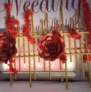Wedding decorations special aluminum - plastic pipe stage background decoration props diameter of 20mm can be bent at will