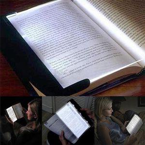 Sihirli Gece Görüş Işık LED Okuma Kitap Düz Panel Okuma Lambası Kitap Işık Sihirli Gece Görüş Işık Öğrenci hediyeler için